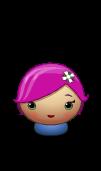 Character Pink Girl